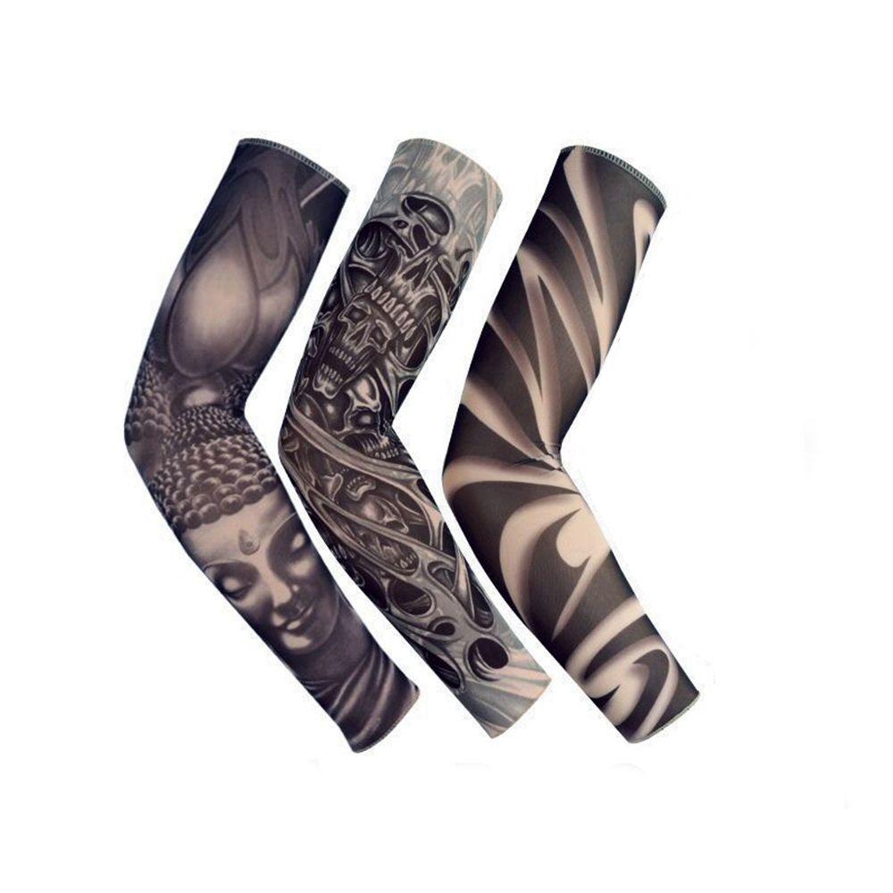Tatuaggio Moda Ins calda unisex manicotti del braccio di aumento della temperatura UV Altri Accessori Moda Protezione esterna provvisorio falso del tatuaggio del manicotto del braccio Warmer Sl