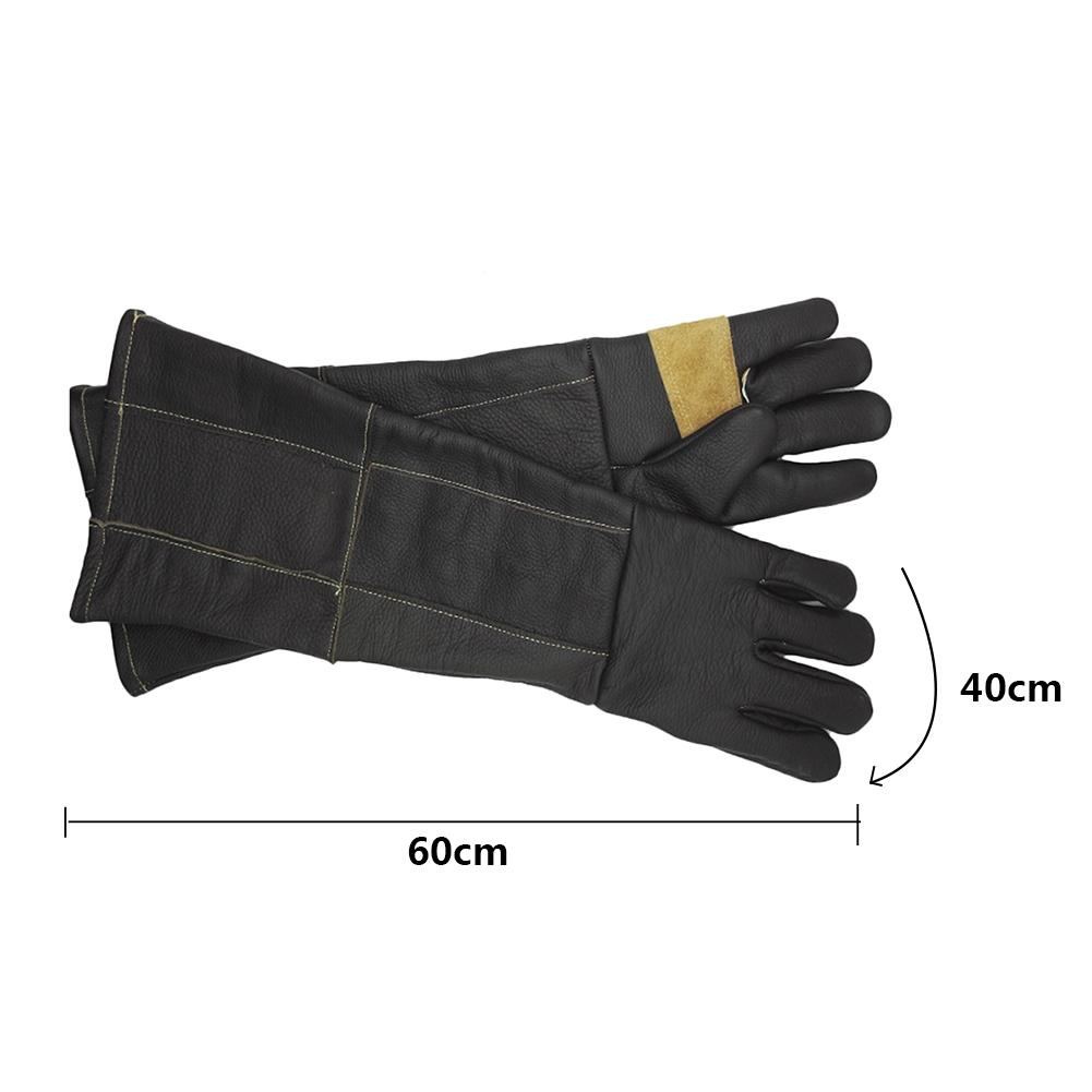 Anti-grasping Anti Bite Leather Protective For Cat Dog And Gardening Work Gloves Pets training Dog Supplies Pet Supplies feeding gloves