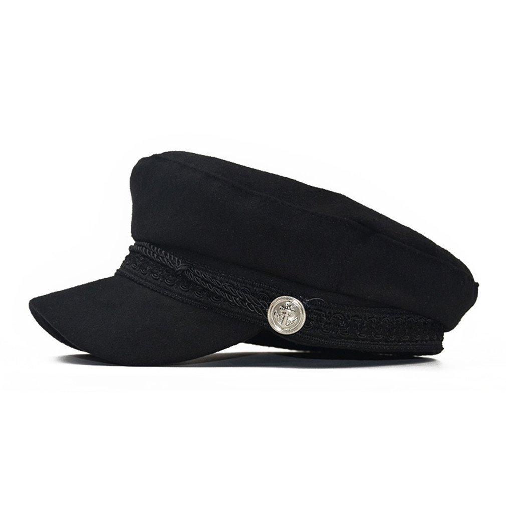 Chapéus de Inverno para WomenCap Cotton Vintage Lã Beret Hats Caps chapéus, lenços Luvas Cap Gorras Planas Snapback Caps Feminino Casqu