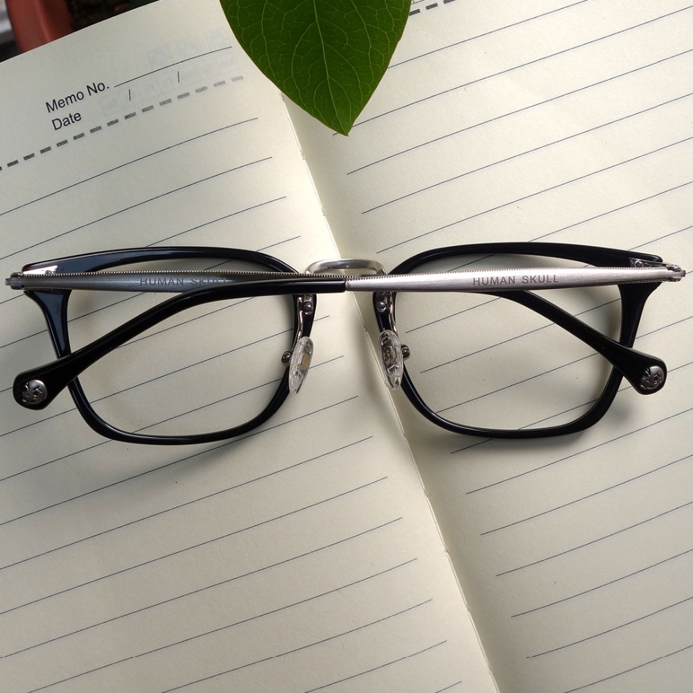 Rectangle Retro Vintage Optical Prescription Glasses Frame Eyewear Glass Women and Sunglasses Frames Eyewear & Accessories Men Medium Size T