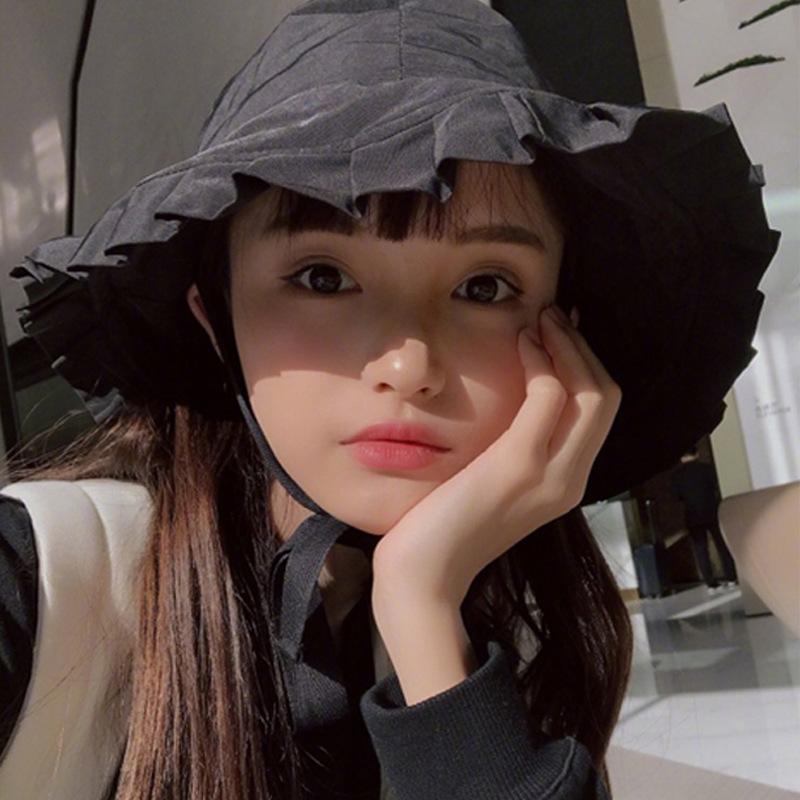Le printemps et l'été pêcheur ébouriffé femmes chapeau en vrac version coréenne du seau chapeau noeud papillon casquette pot sauvages Chapeaux Casquettes Chapeaux, Gants Echarpes