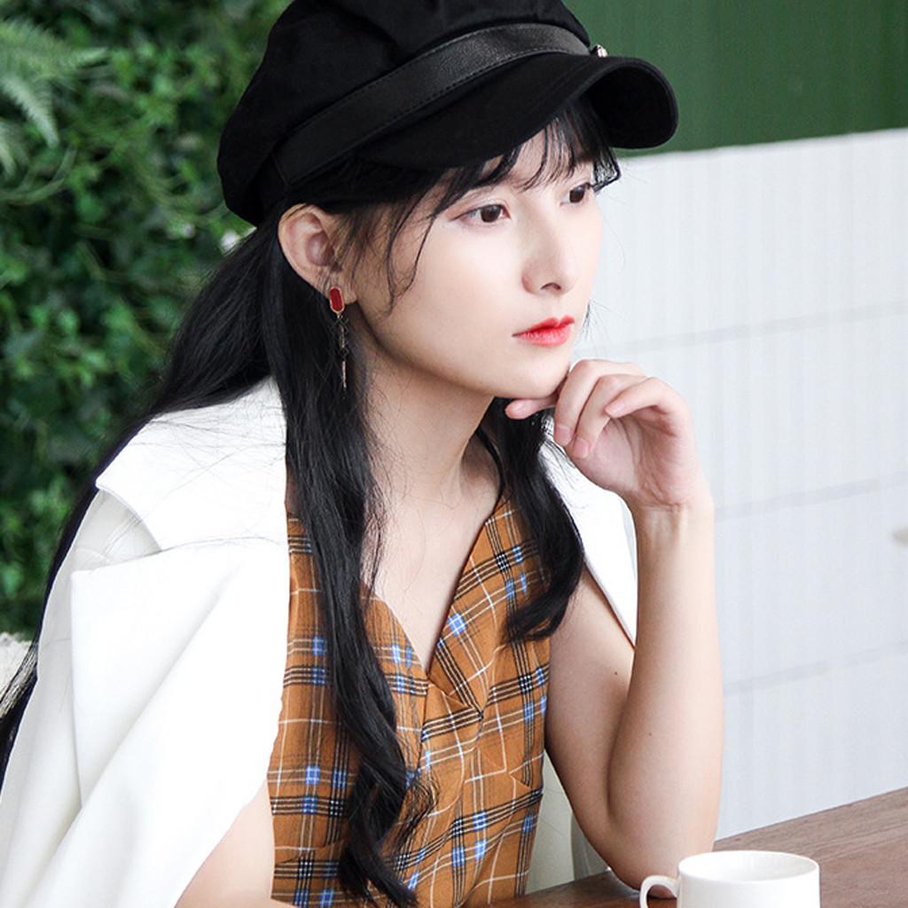 Şapka Kadınlar Sonbahar Bayanlar Bayan Kız Pamuk Baker Boy Cap Newsboys Capss, eşarplar Eldiven Bayan Şapka Moda Kadınlar Şapka Peaked