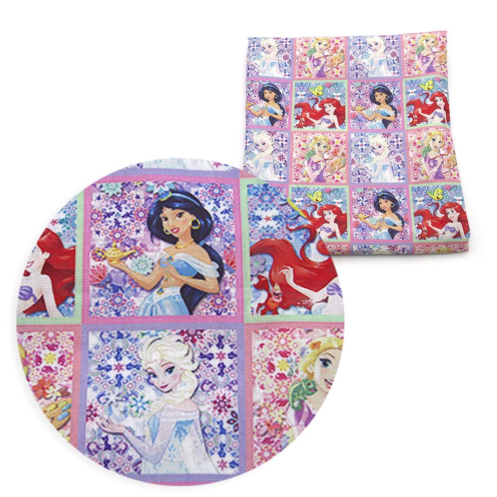 50,140cm 만화 패치 워크 인쇄 폴리 에스터면 조직 키즈 직물 의류 직물 홈 섬유 DIY 의류 드레스 어린이 천 c918에 대한