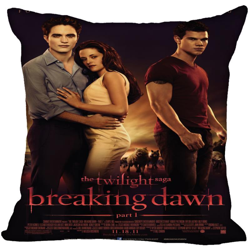 The Twilight Saga Breaking Dawn Yastık Yatak Odası Ev Dekoratif Hediye Yastık Kapak Kare Fermuar Yastık Kılıfları Yatak Ev Textil Malzemeleri