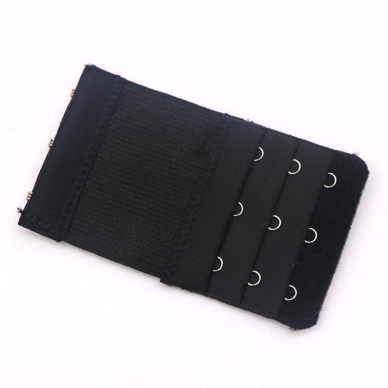 10 Pcs Bra do Extensores Mulheres Underwear Lingerie 3 Hooks 3 linhas Elastic Brassiere extensão ajustável Bralette Lingerie Extensores sem emenda