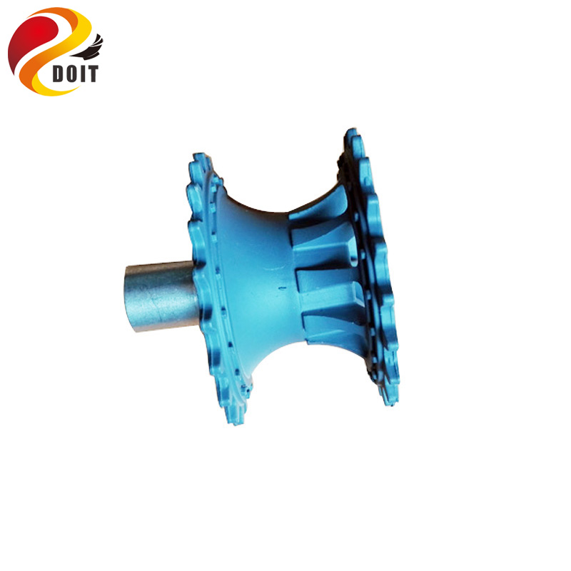 Plastic Driving Wheel with Coupling Inner Size 4mm, 5mm, 6mm for Tank Chassis Parts & Accessories Electric remote control Crawler DOIT