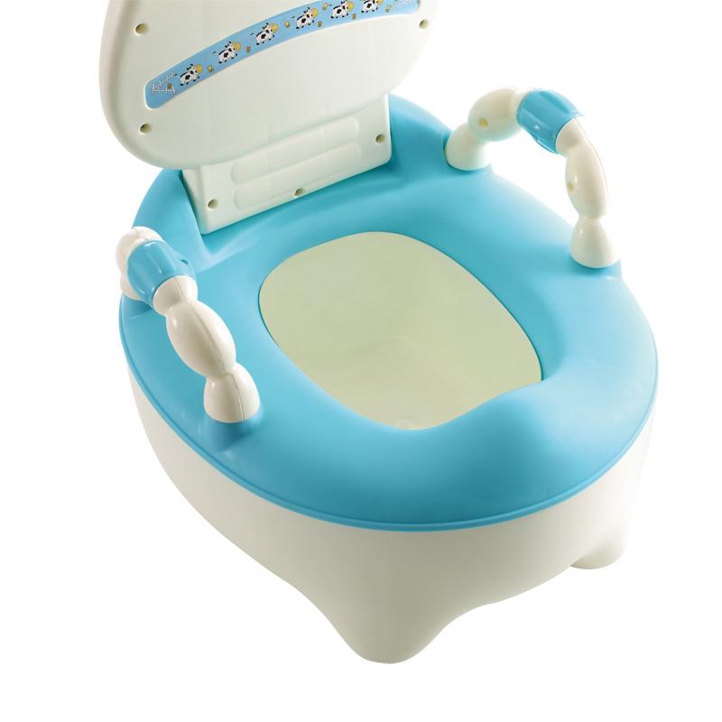 Verkauf der Fabrik Babytopf Stühle Tragbarer Kind Toilette Baby-Klapp Toilette Trainer kostenlos Töpfchen Pinsel