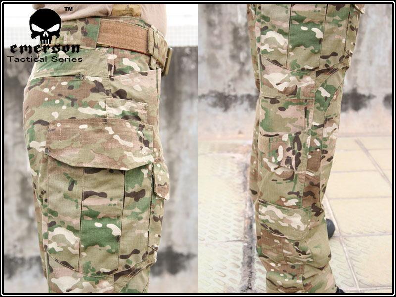 Emerson Hunting Wear Sport Outdoor Bekleidung taktischer Kampf Hosen G3 Uniform BDUArmy Knieschützer Multicam EM8527