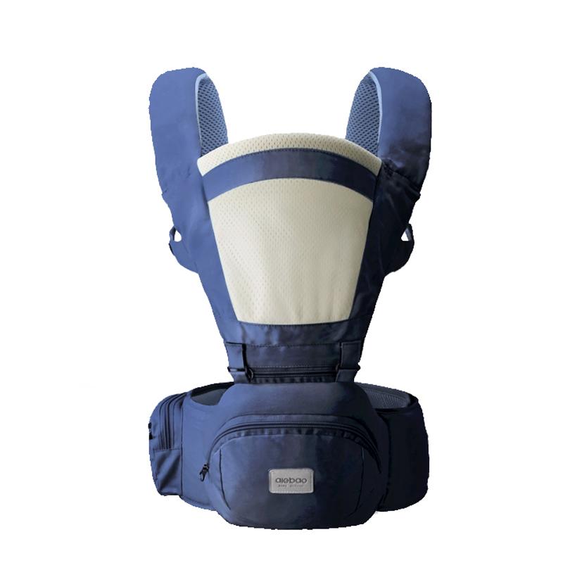 Tuvalet Eğitimi Bebek T Bez Değiştirme Bezi Torbaları için Kanguru Bebek Wrap Carrier bakan AIEBAO Ergonomik Taşıyıcı Bebek Çocuk Hipseat Sling Ön