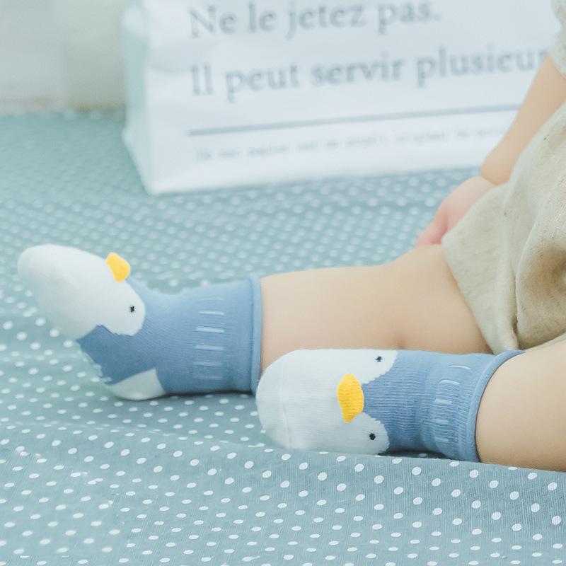2019 Kayma Önleyici Bebek Çocuk Sevimli Stereo Hayvan Karikatür Gevşek Toddle Erkekler Kızlar Çorap Çocuk Giyim Aksesuar Çorap Bebek Çocuk Giyim