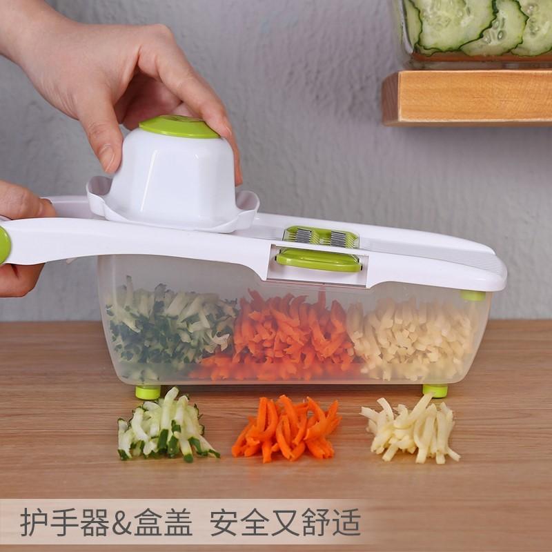 Trituradora de la patata corte de verduras Artefacto Rollery cocina multifuncional limpiaparabrisas que limpia raspador de la rebanada del hogar Manual procesadores de alimentos Kitch