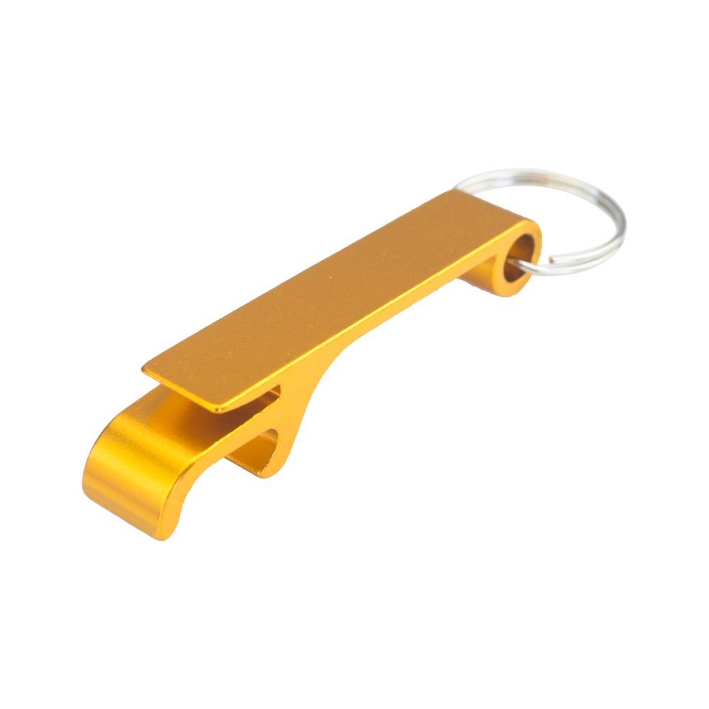 Bar Yemek Lut'un 100pcs Ücretsiz Özelleştirilmiş Engrave Alüminyum Taşınabilir Can Açıcı, Anahtarlık Ring Can Açıcı, Restoran Promosyon Diğer Mutfak,