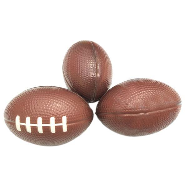 Stres Relief'te relaxable Gerçekçi MagnetsMagnetic Oyuncaklar Yenilik Gag Oyuncak Beyzbol Spor Toplar için Rugby Köpük Squeeze Toplar (12pcs)
