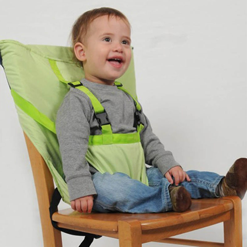 Baby Portable Infant Carrier Dining Lunch ChairSeat For Kids Safety Belt Feeding High Chair Harness Baby Chair Seat