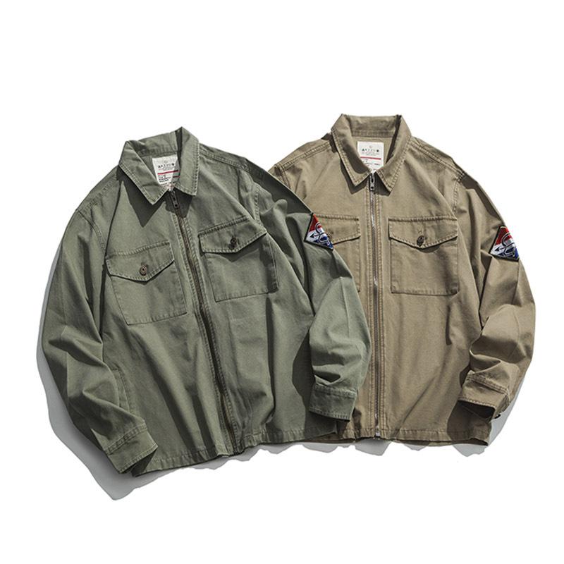 Mens confine settentrionale Indossare Shu Abbigliamento Uomo Cappotti cappotto maschile 2019 autunno e in inverno nuovi uomini di stile Work Clothes casacca Piccolo