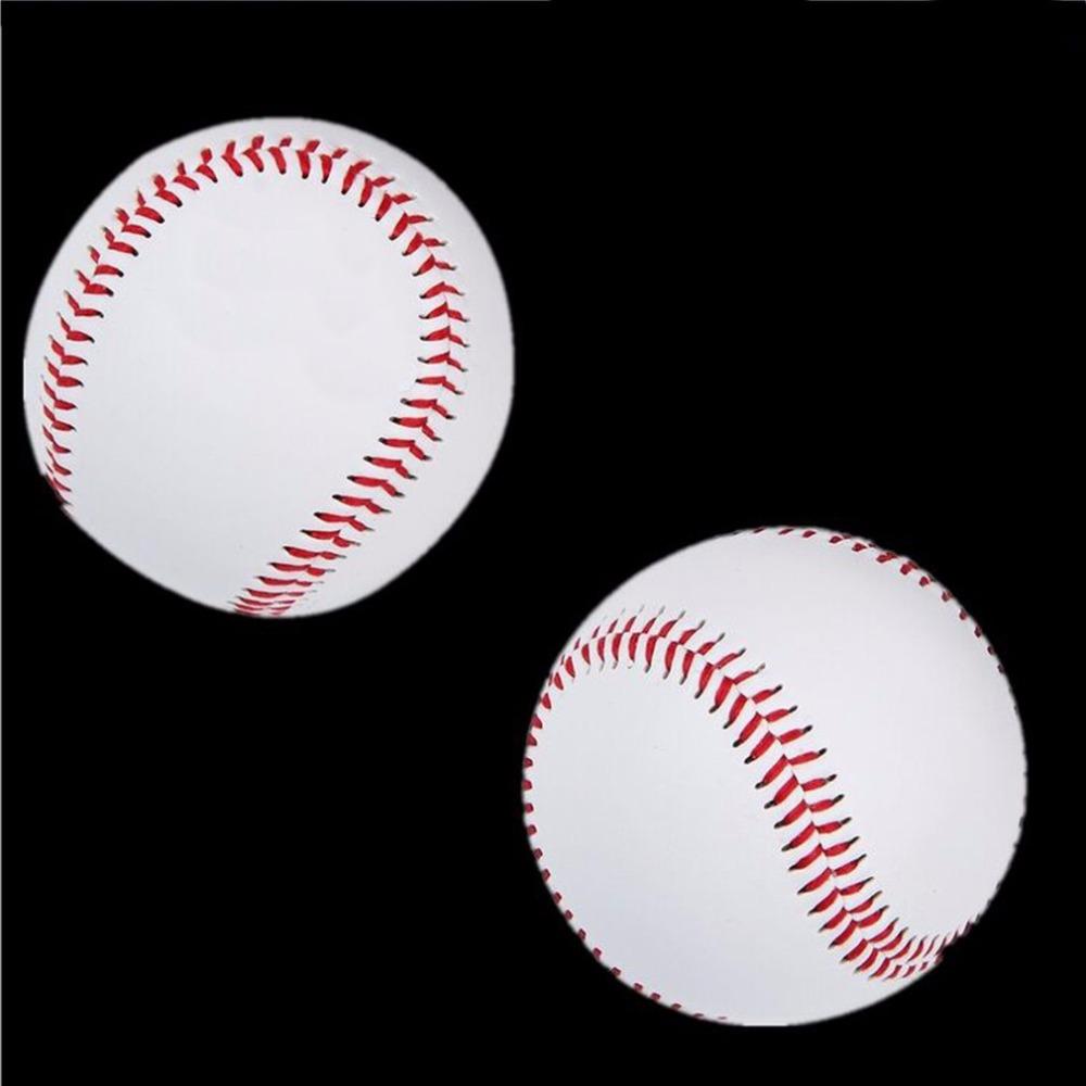 Универсальный 9 Handmade Baseballs PVCPU Верхняя HardSoft Фитнес оборудование Фитнес оборудование Бейсбол Мячи софтбол мяча тренировочное упражнение Baseb