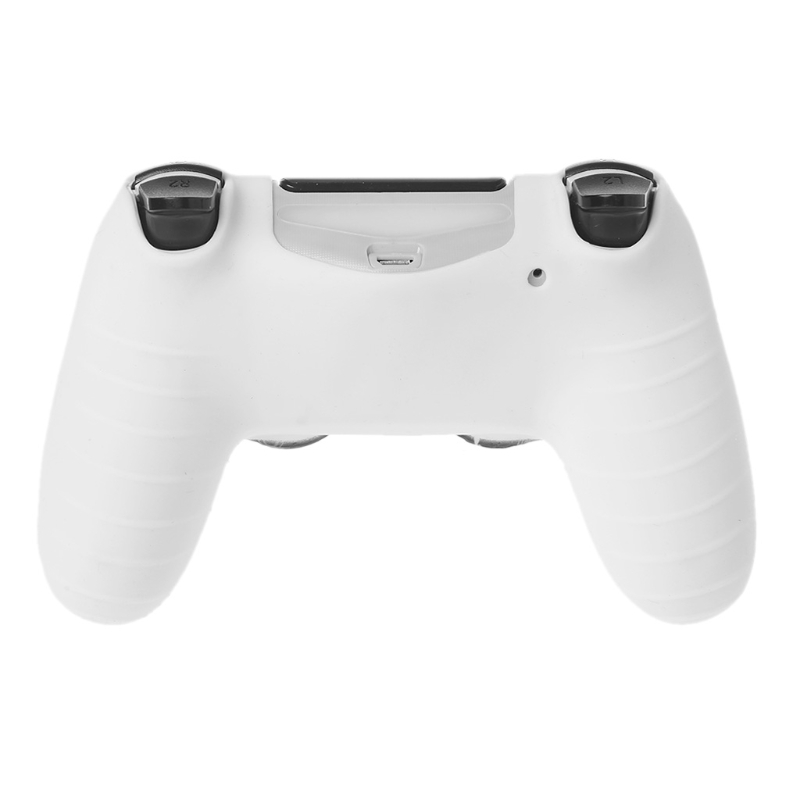 Gamepad Controller Silicone Sleeve Game Controllers & Joysticks Game Accessories Guard Protective Cover 2 Grip Caps For PS4
