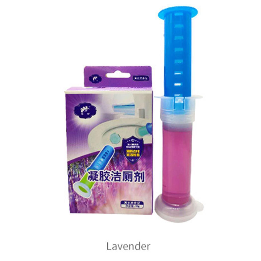 Services Otros Baño Suministros Baño WC WC Limpiador detergente desodorante 0044kg pétalo púrpura Amarillo Verde Azul Gel