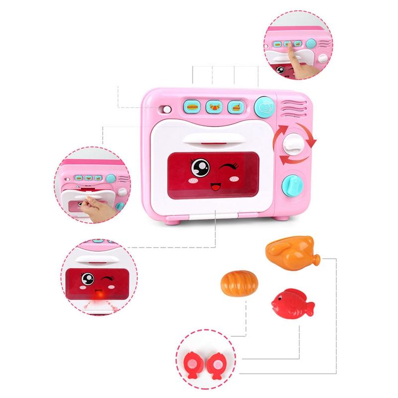 Mutfak Seti Fırın 5 Setleri Mutfak Yemek Yap İnan Çal ve Giydirme ToysColor Randomize Bulmaca Oyuncak Çocuk Oyuncakları Puzzle oyna