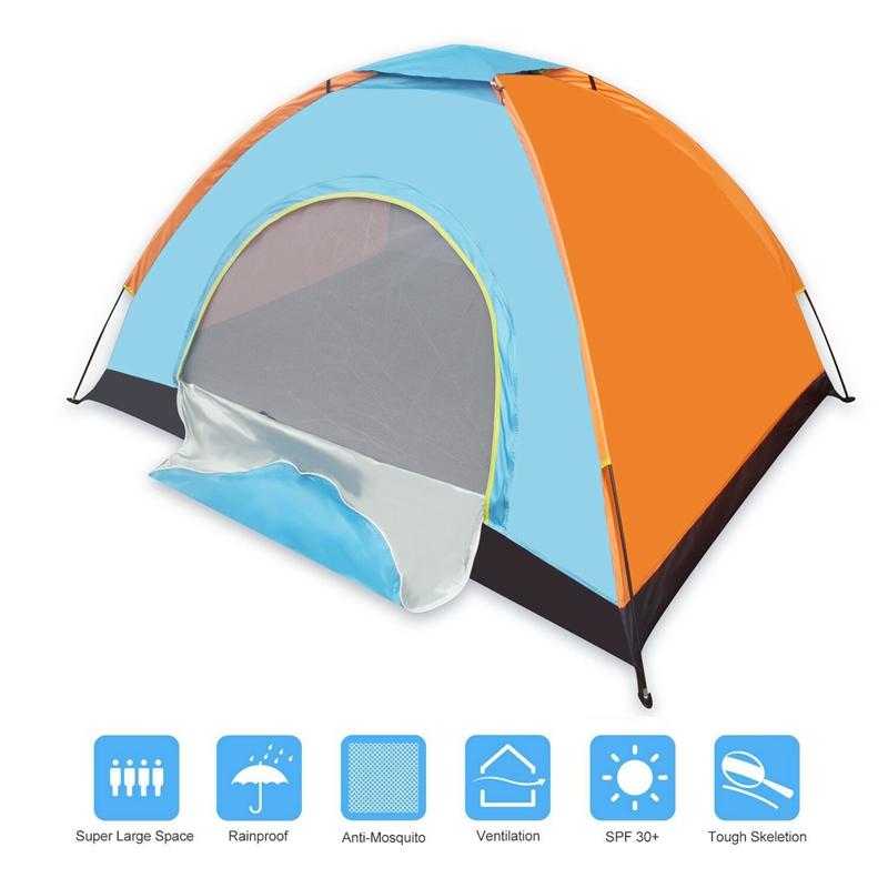 2 Person Tent альпинизм Купол Shelter Открытый и кемпинг Кемпинг Туризм Толстых Солнцезащитные Малой Палатка Кемпинг Туризм Путешествие