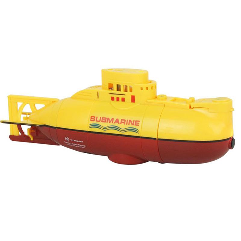 Мини Rc подводника 6Ch Высокоскоростной радио дистанционного управления лодкой Модель Electric частей Аксессуары Электрический пульт дистанционного управления Детские игрушки
