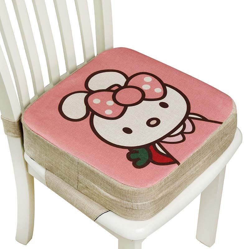 Bambino Aumento Pad Bambini pranzo ammortizzatore regolabile rimovibile Seggiolone Booster sedia cuscino del sedile per la cura del bambino