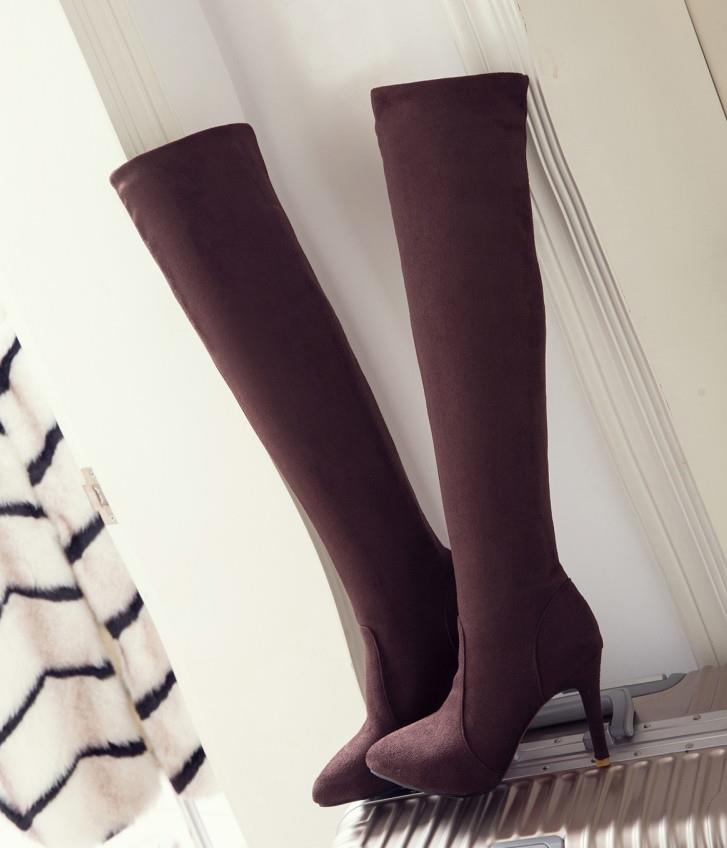 designer over the knee thigh high boot fashion luxury designer women shoes winter boots size 33 to 42 43