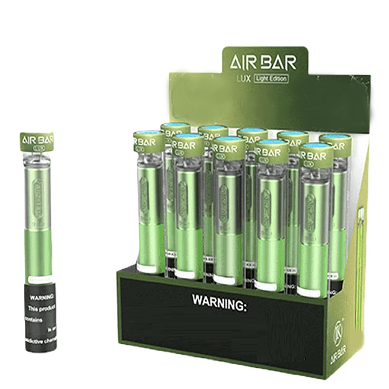 Hot Air Bar Lux Light Edition Disposable Device Kit Vape 2.7ml Pod Prefilled 1000 Puffs 500mAh Battery Airbar Bang PRO MAX XXL Flex Fume Ext