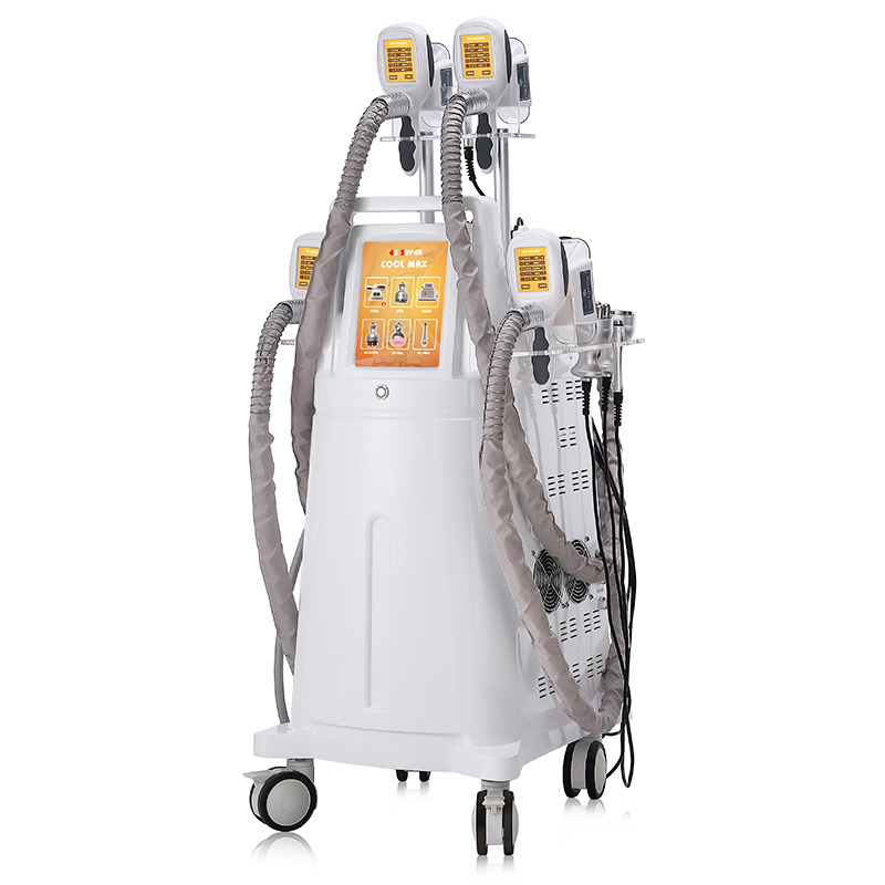 2021 Cryotherapy Cool Body Contouring Cryolipolysis Machine 4 Handles Fat Freeze Lipo Laser Cavitation Smash Adipose Cellulite Removal