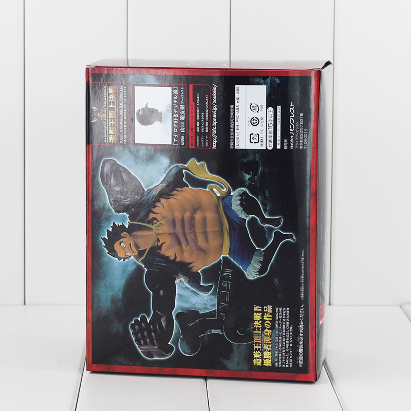 Anime One Piece Gear Fourth Monkey D Luffy 14cm PVC Action Figure Collectable Model toy retail