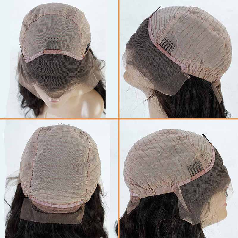 Brazilian Straight Short Human Hair Wigs For Black Women 150 Density Brazilian Lace Front Human Hair Bob Wigs With Baby Hair