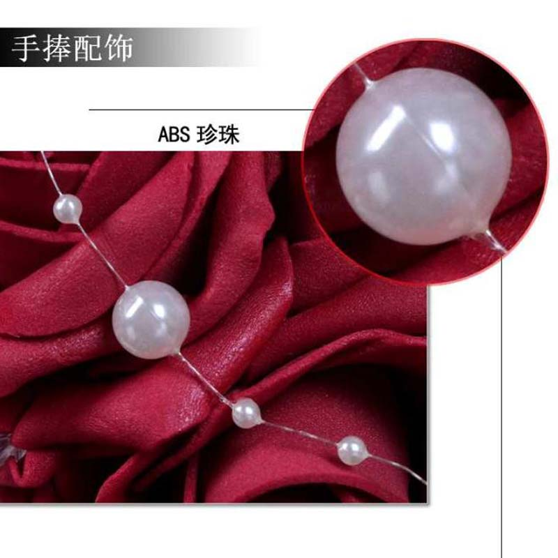2018 Women Roses Ribbon Decorations Bridal Flowers Accessories Gown Fast Shipping Burgundy Shipping Burgundy Artificial Wedding Bouquets For