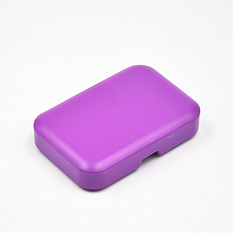 Plastic Rectangle Tobacco Box Cigarette Storage Case for Rolling Paper Smoking Pipe Holder Nice Colors Avaiable In Stock
