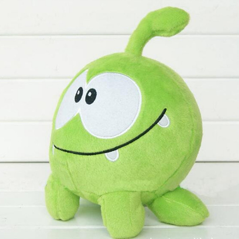 Lovely 7inch 20cm om nom frog plush toys cut the rope soft stuffed figure classic toys game doll for kids gift