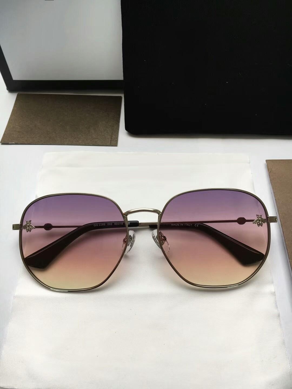New top quality 2289 mens sunglasses men sun glasses women sunglasses fashion style protects eyes Gafas de sol lunettes de soleil with box