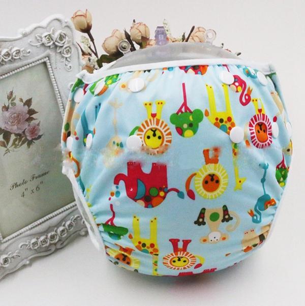 Unisex free Size Waterproof Adjustable Swim Diaper Pool Pant Swim Diaper Baby Reusable Washable Pool Diaper