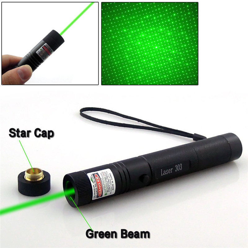 532nm Professional Powerful 301 Green Laser Pointer Pen 303 Green Laser Pointer Pen Laser Light With 18650 Battery