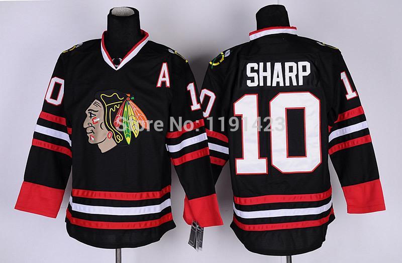 5-Men\`s Chicago Blackhawks #10 Jersey Patrick Sharp Hockey Jerseys Home Red Road White Third Black Green Stitched Jerseys A Patch_2.jpg