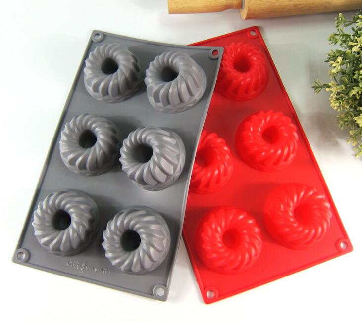 1//6 semicircle ice cream silicone cake chocolate baking mold ice mold