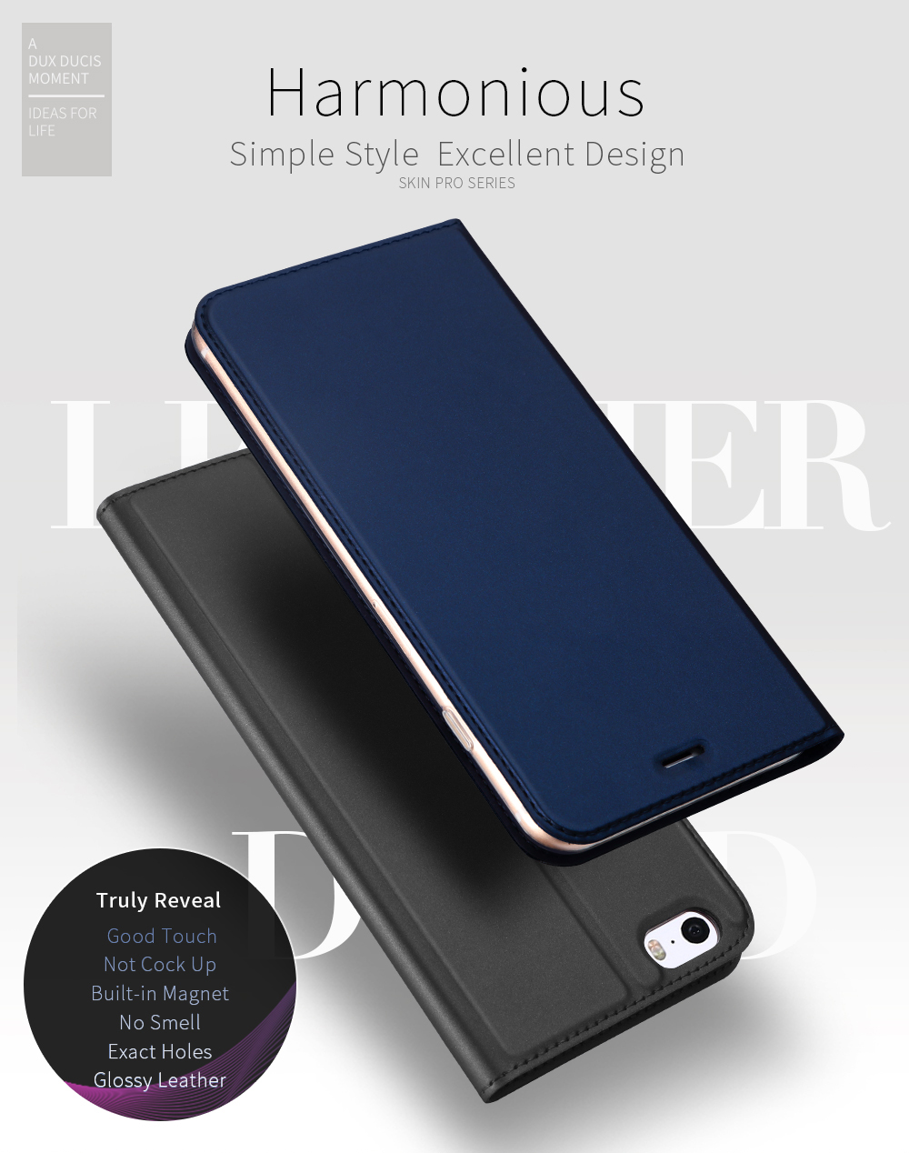DD Luxury Flip Leather Case for iPhone 5 5s (1)