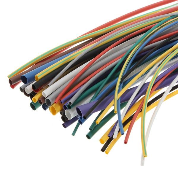 580 un Tubo De Calor Shrink Tubo Kit de envoltura de cable Surtido 2:1 Manga de cable