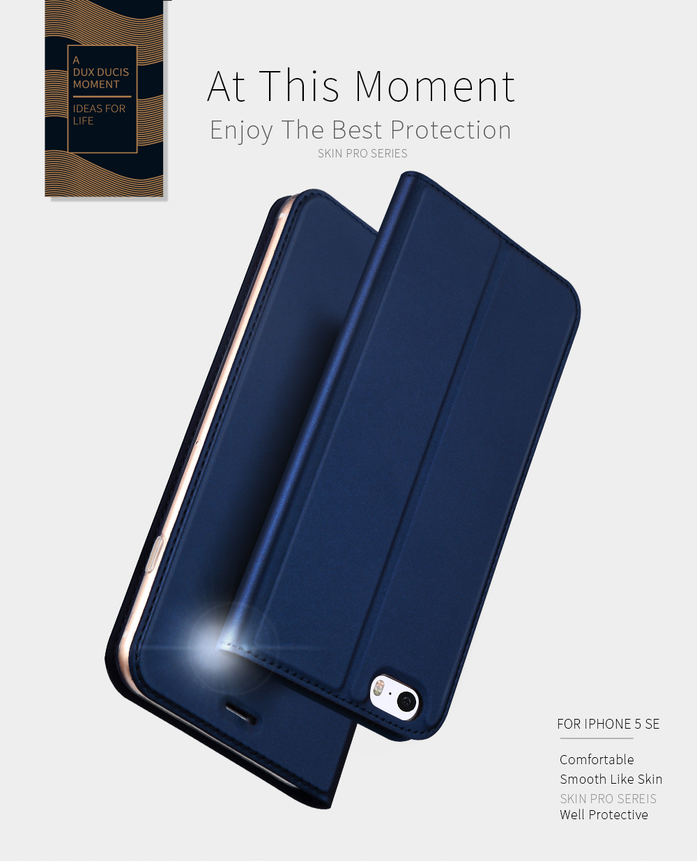 DD Luxury Flip Leather Case for iPhone 5 5s (6)