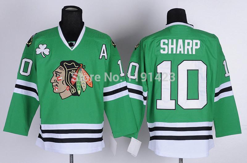 5-Men\`s Chicago Blackhawks #10 Jersey Patrick Sharp Hockey Jerseys Home Red Road White Third Black Green Stitched Jerseys A Patch_1.jpg