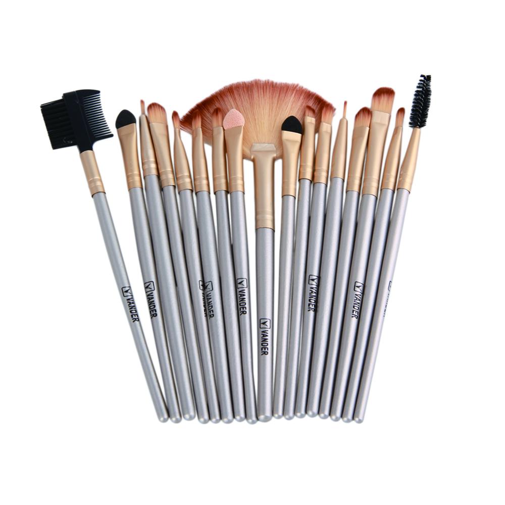 Professional Soft Champagne 32pcs Makeup Brushes Set Beauty Cosmetic Real Make Up Tools Eyeshadow Blush Set With Brush Bag (14)