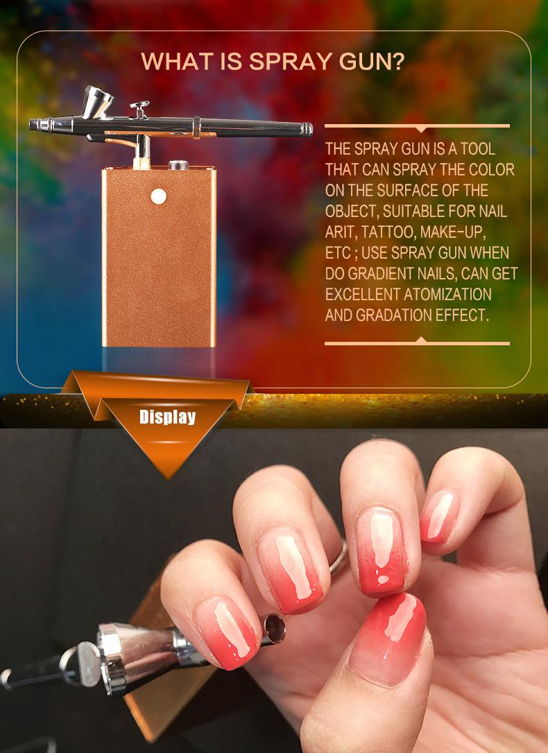 Wholesale Dual Action Airbrush Multi Function Air Brush Kit Spray ...