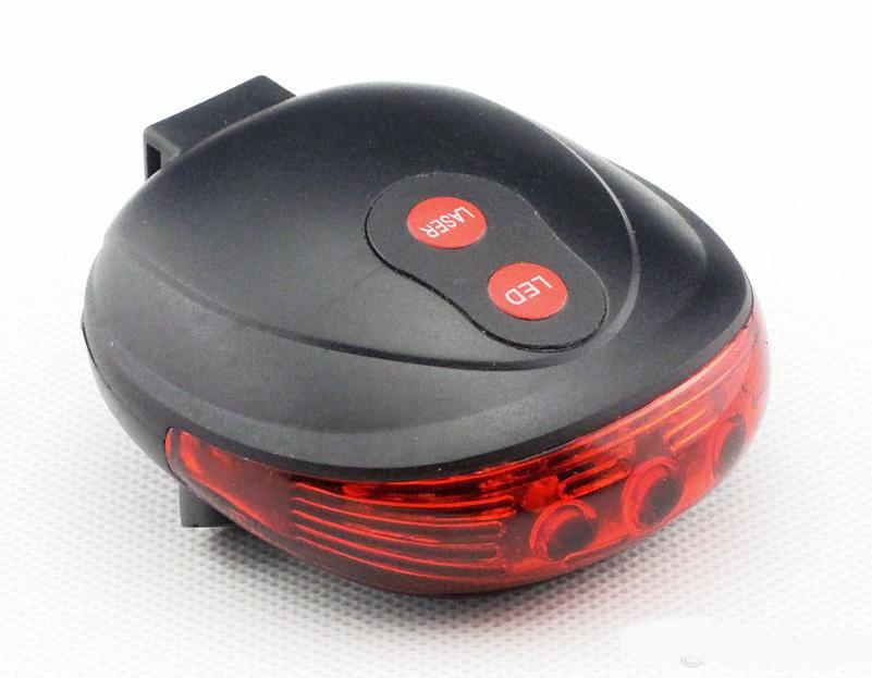 USB aufladbare 100LM LED Fahrrad Rücklicht wasserdicht Warnung Schlussleuch BF#