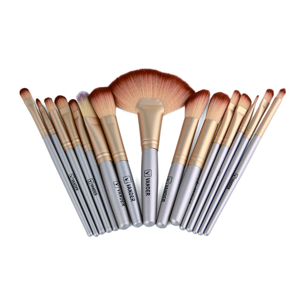 Professional Soft Champagne 32pcs Makeup Brushes Set Beauty Cosmetic Real Make Up Tools Eyeshadow Blush Set With Brush Bag (13)