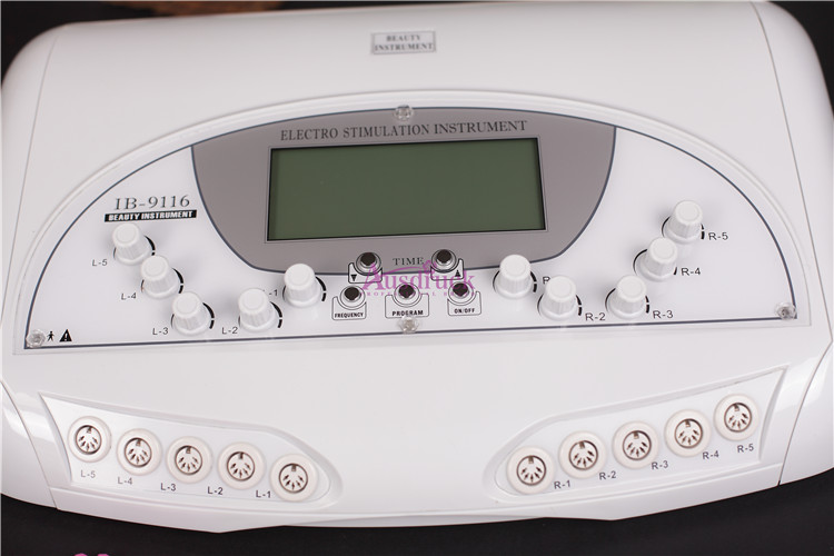 Mikrostrom Körper Elektrostimulator Physiotherapie Pulsstimulationsmaschine
