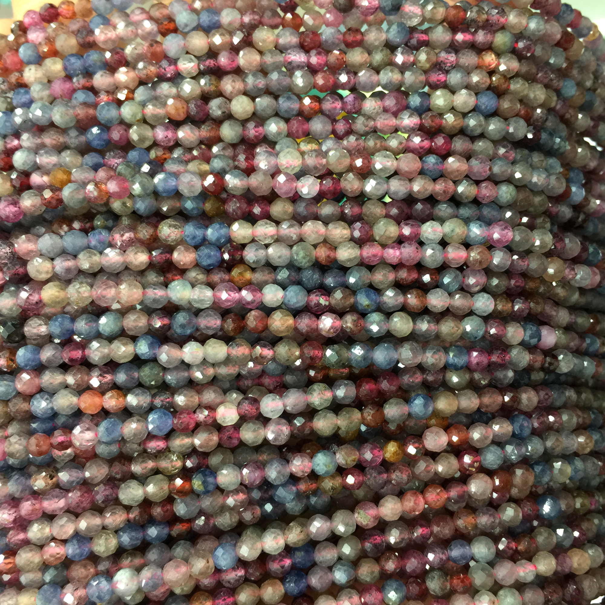 5g of 3mm Sterling Silver Round Beads Approximately 75 beads