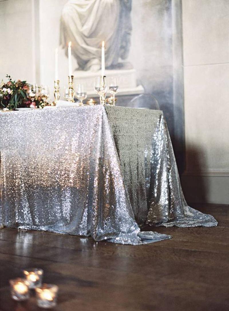 sequin tablecloth33